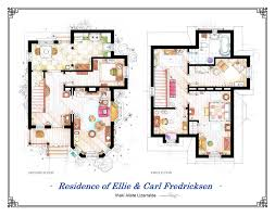 Blueprints Of Homes Floor Plans Of Homes From Famous Tv Shows