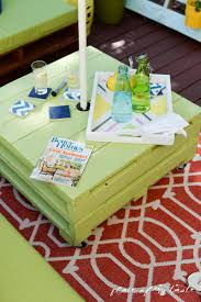 Pallets Patio Furniture - diy pallet furniture a patio makeover