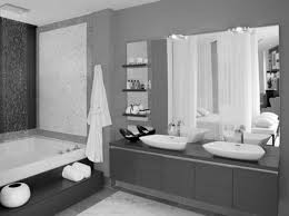 small bathroom mirror with dark brown wooden frame between lamps