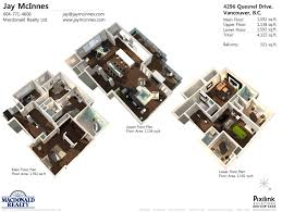 Home Design 3d Ipad Balcony 3d Colored House Floor Plans Medemco Pictures 2 Plan Trends