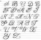 Tattoo Lettering Cursive Styles   Popular Tattoo Design