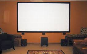 how to build your own projector screen at home for less than fifty