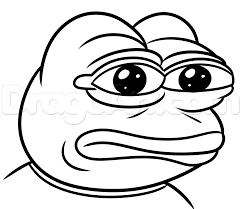 how to draw pepe frog step by step characters pop culture free