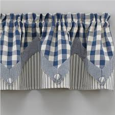 charming blue valance curtain 68 blue stripe valance curtains