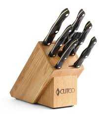 Kitchen Knives Online by Galley Set With Block 9 Pieces Knife Block Sets By Cutco
