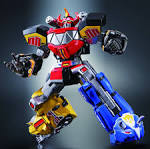 New Pics and Info For Super Robot Chogokin Megazord‏ - The Toyark ...