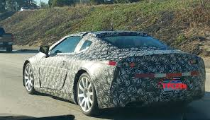 lexus lc convertible 2017 first spy photos of 2017 lexus lc 500 with michigan plates spied