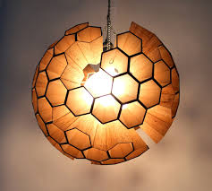 Octopus Lamp Lamp Sphere Of Hexagonal Cells By Margaret Barry Pinned By Www