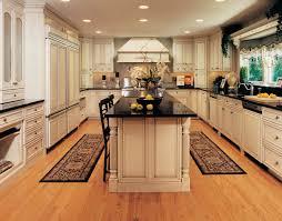 elegant kitchen ideas with wooden beige kitchen maid cabinet