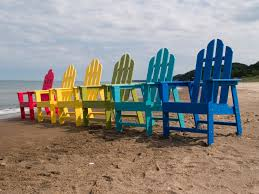 Polyethylene Patio Furniture by Furniture Deluxe Adirondack Chair By Polywood Furniture In Green