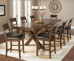 counter height trestle table by hillsdale wolf and gardiner wolf
