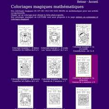 coloriages magiques gs cp ce1 pearltrees