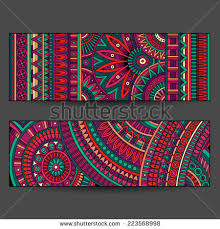 Indian Flower Design Abstract Indian Flower Design Stock Images Royalty Free Images