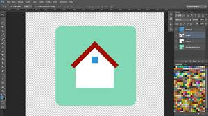 Home Design Gold App Tutorial How To Create A Flat Navigation Icon Set In Adobe Photoshop