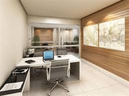 Wooden Office Tables Designs White Themed Cool Home Office Design With Contemporary White Wood