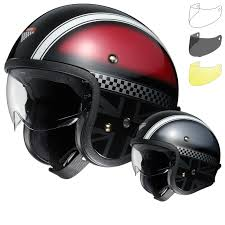 open face motocross helmet shoei j o hawker open face motorcycle helmet u0026 visor open face