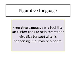Figurative Language Figurative Language is a tool that an author uses to help the reader visualize