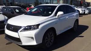 pictures of lexus suv 2015 new ultra white on black 2015 lexus rx 350 awd f sport package