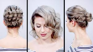 valentine u0027s day inspired short hairstyles tutorial milabu youtube