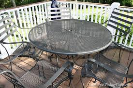 Outdoor Furniture Finish by Painting Patio Furniture With The Homeright Finish Max Farm