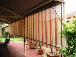 great outdoor roll up blinds bamboo improvement http window
