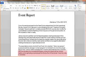 business trip report template pdf 8 samples of report writing park attendant samples of report writing write an event report