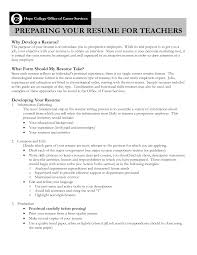 Job Resume With No Experience by Resume Examples For Teachers With No Experience Augustais