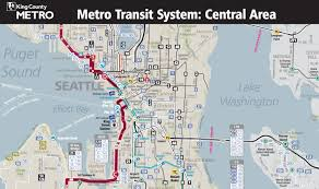 Los Angeles Light Rail Map by Seattle Adopts Frequent Map Business Insider