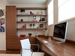 Home Office  Desk Decorating Ideas Design Of Office Office In The - Home office cabinet design ideas