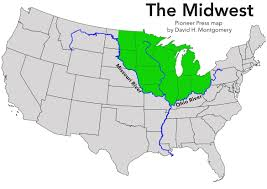 Map Of The Ohio River by The Midwest Defined Sort Of