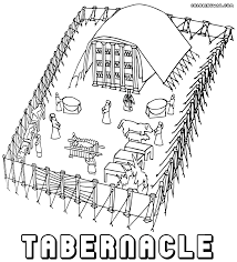 tabernacle coloring pages coloring pages to download and print