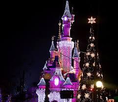 Y esta es una vista de Disney en navidades