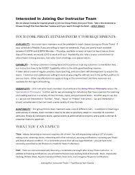 Personal Trainer Sample Resume by Automotive Instructor Resume Samples Virtren Com