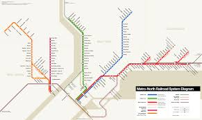 Metro Lines Map by Metro North Railroad U2014 Map Lines Route Hours Tickets