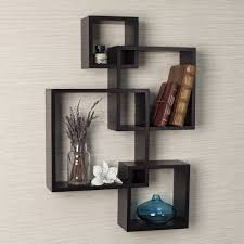 Floating Box Shelves by Black Cube Storage Cube 2 3 4 Tier Wooden Book Case Display