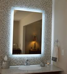 classy and ideal lighted vanity mirror u2014 doherty house