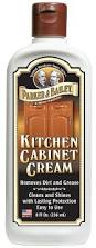 Clean Grease Off Kitchen Cabinets Amazon Com Parker U0026 Bailey Kitchen Cabinet Cream 8oz Everything Else