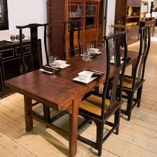 furniture long thin dining room table narrow width dining table