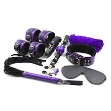 purple bed amazon black friday cheap price 8pcs lot purple mix color leather restraints