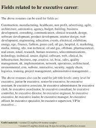Senior Hr Manager Resume Sample by Top 8 Hr Executive Resume Samples