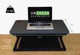 changedesk mini sit to stand desk riser for laptops u0026 desktop