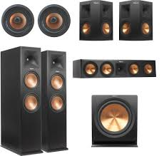 blu ray home theater system with wireless rear speakers klipsch rp 280 dolby atmos 5 1 4 in ceiling home theater speaker