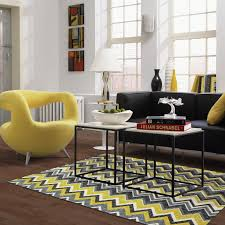 Yellow And Gray Living Room Rugs Yellow Gray Area Rug Moroccan Trellis Modern Grayyellow 9 Ft X 12