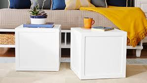 Diy Simple End Table by Modular Cube Tables