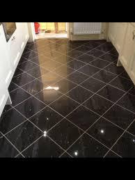 black galaxy granite floor tile black pinterest granite