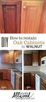 Restaining Kitchen Cabinets Cabinets And Furniture Finishes Oak Kitchen Cabinets Dark