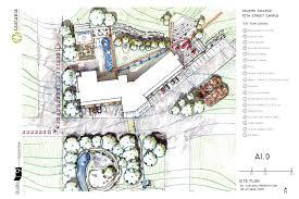 Micro Studio Plan Selkirk College U2013 Conceptual Site Plan Studio 9 Architecture