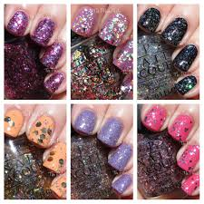 the polishaholic opi spotlight on glitter collection swatches