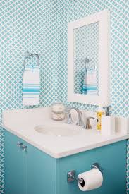 278 best wallpapered bathroom images on pinterest bathroom ideas