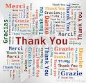 free thank you in different languages clipart